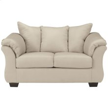 Signature Design by Ashley Darcy Loveseat in Stone Microfiber