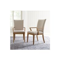 Hygge by Rachael Ray Upholstered Back Arm Chair Product Image