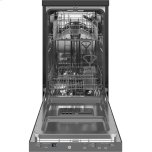 "GE ®18"" Stainless Steel Interior Portable Dishwasher With Sanitize Cycle"