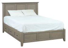 FST McKenzie Queen Petite Storage Bed