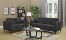 Liam Charcoal Loveseat