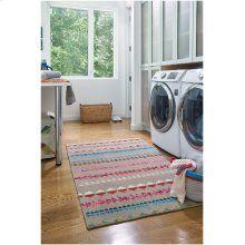 Viking Stripe Driftwood Multi Hand Knotted Rugs