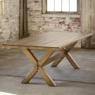 "Bench*Made Maple 126"" Rectangular Table Product Image"