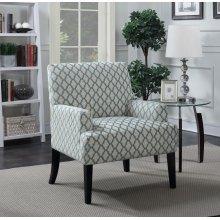 Madison Quatrefoil Accent Chair