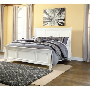 Ashley Furniture Prentice - White 3 Piece Bed Set (Queen)