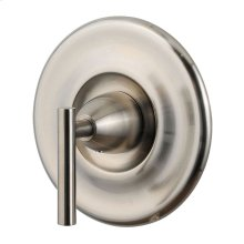 Brushed Nickel 1-Handle Tub & Shower Valve Only Trim