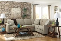 Alenya 3-Piece LAF Loveseat Sectional w/ RAF Sofa (Quartz) Product Image
