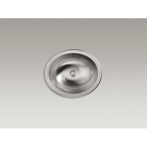 Drop-in/under-mount Bathroom Sink With Luster Finish and Overflow