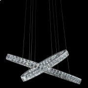 Crossover LED Chandelier Product Image