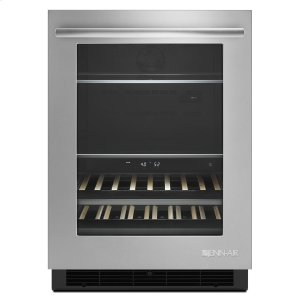 """JENN-AIREuro-Style 24"""" Under Counter Beverage Center Stainless Steel"""