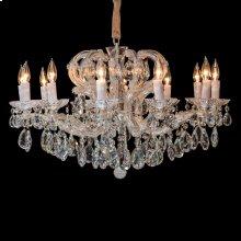 Portola 12 Light Chandelier Silver