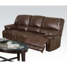 Chestnut Sofa W/motion