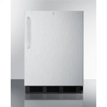 ADA Compliant Commercial Outdoor Refrigerator In Complete Stainless Steel, Designed for Built-in or Freestanding Use