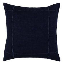 Heirloom Indigo Duvet 3Pc Euro Sham Set