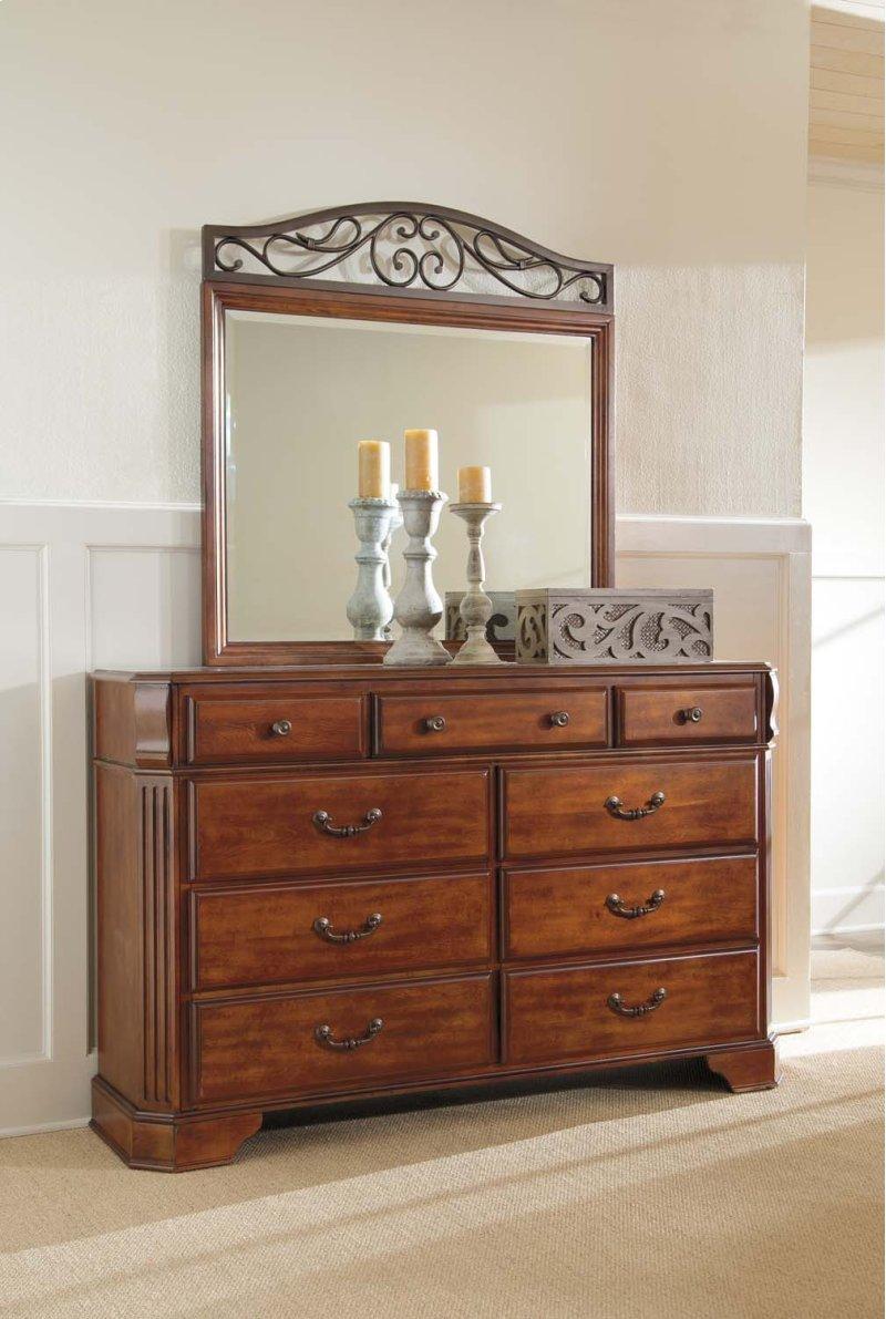 B429B1 in by Ashley Furniture in Orange, CA - Wyatt - Reddish Brown ...