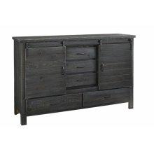 Door Dresser - Charcoal Finish