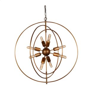 Cosmos Iron Chandelier Small w/ Bulb