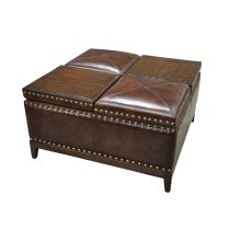 Bolero Storage Cocktail Ottoman
