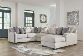 Dellara - Chalk 4 Piece Sectional
