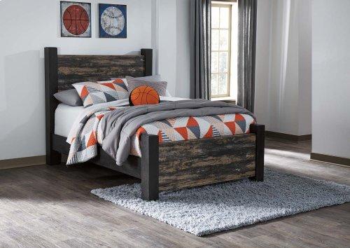 Westinton - Black/Brown 3 Piece Bed Set (Full)