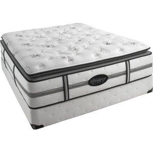 SimmonsBeautyrest - Black - Daniella - Plush - Pillow Top - Cal King