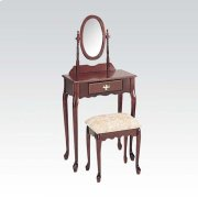 WOOD VENEER VANITY SET/OAK Product Image