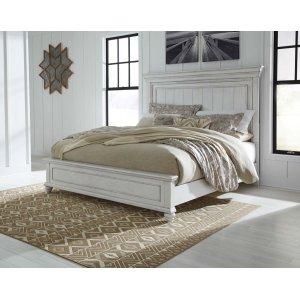 Ashley Furniture Kanwyn - Whitewash 3 Piece Bed Set (King)