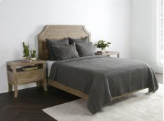 Cressida Charcoal Queen Quilt 92x96 Product Image