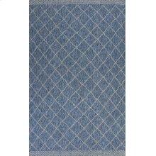 "Farmhouse 3207 Blue Rustico 5' X 7'7"""
