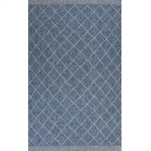 Farmhouse 3207 Blue Rustico 5' X 7'7""