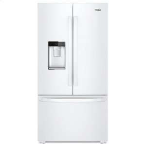 36-inch Wide Counter Depth French Door Refrigerator - 24 cu. ft. - WHITE