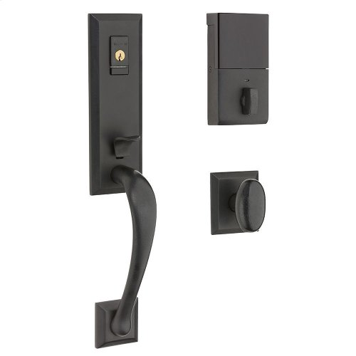 Distressed Oil-Rubbed Bronze Evolved Cody 3/4 Knob Handleset