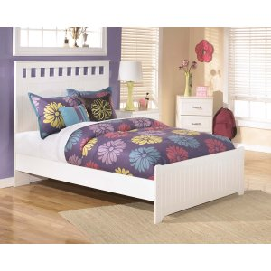 AshleySIGNATURE DESIGN BY ASHLEYLulu - White 3 Piece Bed Set (Full)
