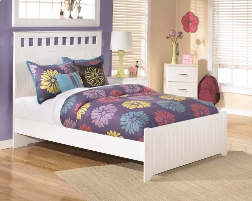 Full-Size Panel Bed
