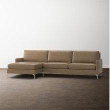 MODERN-Serafina 2 Piece Left Chaise Sectional