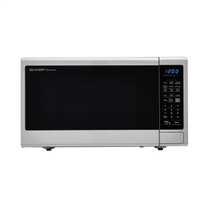 Sharp Appliances1.8 cu. ft. 1100W Sharp Stainless Steel Countertop Microwave Oven with Black Mirror Door