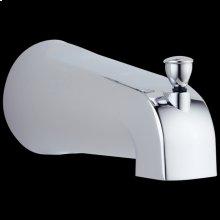 Chrome Tub Spout - Pull-Up Diverter