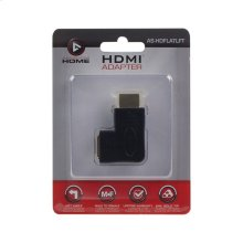 Left Angle HDMI® Flat Vertical Adapter