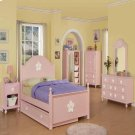 PINK W/WH FLOWER TRUNDLE Product Image