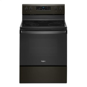 Whirlpool5.3 cu. ft. Whirlpool® electric range with Frozen Bake technology.