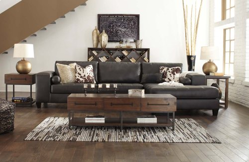 RAF Corner Chaise/LAF Sofa 2 Piece Sectional