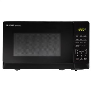Sharp0.7 cu. ft. 700W Sharp Black Carousel Countertop Microwave Oven