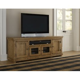 "74"" Console - Distressed Pine Finish"