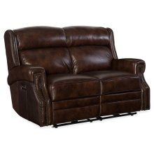 Living Room Carlisle Power Recliner Loveseat w/ Power Headrest