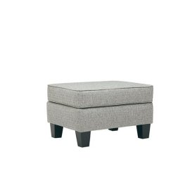 Ottoman - Shown in 123-06 SugarShack Gray Finish