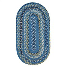Garrison Provincial blue Braided Rugs