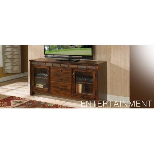 "Santa Fe 108""W Entertainment Wall"