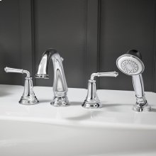 Delancey Roman Tub Faucet with Personal Shower  American Standard - Polished Chrome