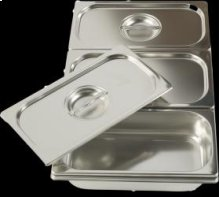Bain-Marie 3 Tray Warming Pans G00201
