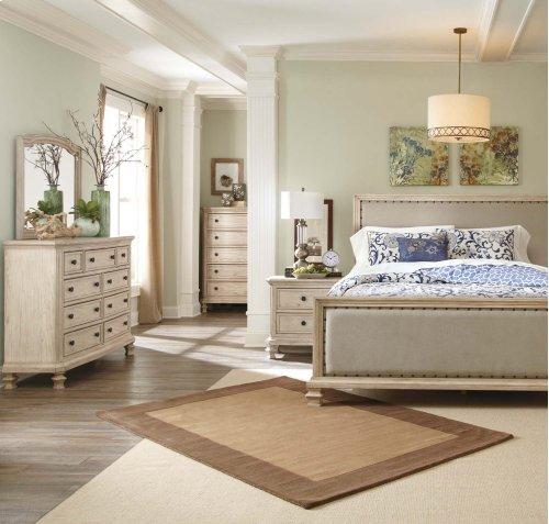 Demarlos - Parchment White 2 Piece Bedroom Set